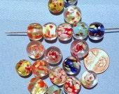 SALE- 19 Vintage Glass Beads