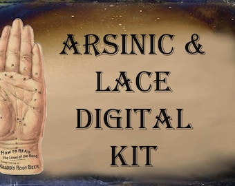 Arsinic and Lace Digital Craft Kit