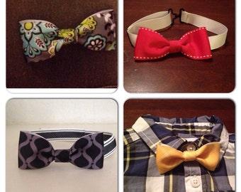 Adjustable bow tie