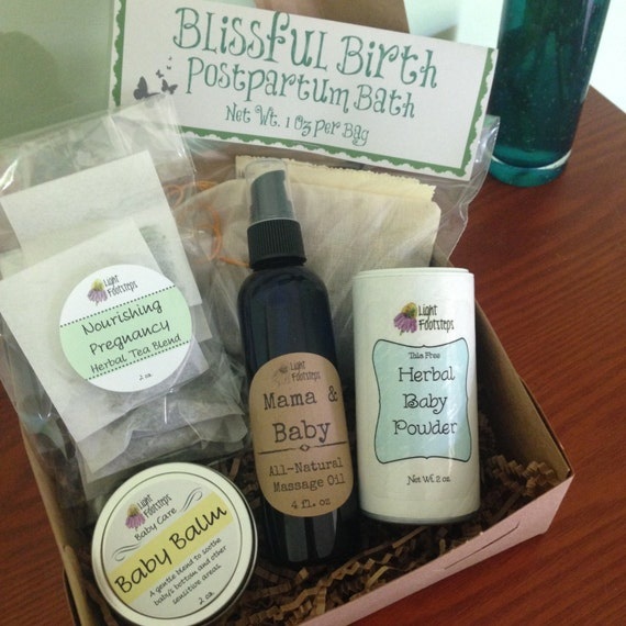 New Mama Mix - Deluxe Gift Box for Pregnant Natural Mamas!