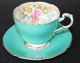 PARAGON Fine Bone China Teacup and Saucer Set