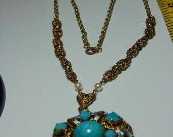 Vintage West Germany Signed Necklace