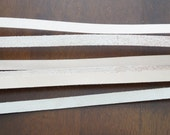 "1/2"" X 74-1/2"" Veg-Tan Leather Strap 2-3 oz"