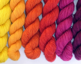 The Joker and the thief - Yarn gradient set