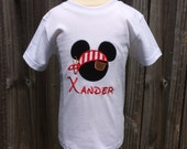 MICKEY MOUSE PIRATE Personalized Embroidered Bodysuit or T-Shirt