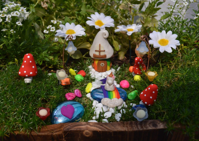 Unicorn Miniature Garden Kit By Pinkydinkydesigns On Etsy