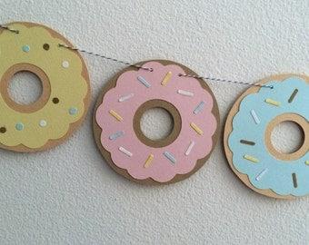 Pastel Donut Garland