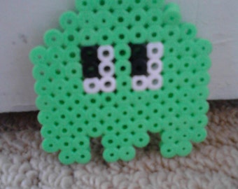 SALE green pacman ghost magnet home decor