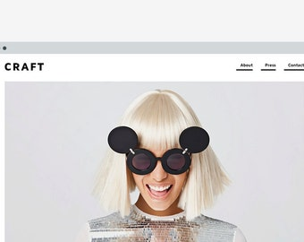 Blogger template 'Craft'