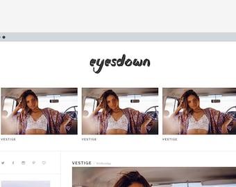 Blogger template 'Eyesdown'