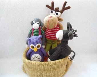 Amigurumi the Gang crochet pattern