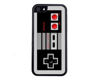 80's Retro Nintendo Inspired Controller Case Design For iPhone 4/4s, 5/5s, 5c, 6/6s, 6 Plus/6s Plus, 7 or 7 Plus.