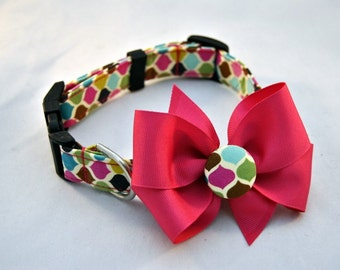 Lollipop Collar with Bow