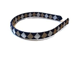 Back to School!!! Woven Ribbon Headband-School Uniform Headband-You Pick the Colors