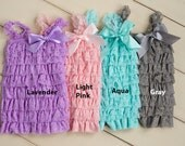 Baby rompers for girls, Lace romper, 1st birthday outfit, Ruffle romper, petti romper,baby romper, baby dress, photo outfit