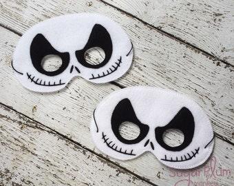 Skeleton Mask, Children's Felt Mask