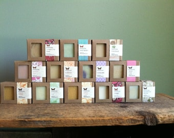 Current Stock List - Cold Processed Soaps