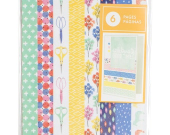 Amy Tangerine - Finders Keepers Collection - Washi Tape Book - 48 Pieces - 340251