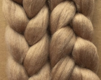 Baby Alashan Camel Roving, Baby Camel Fibre, Baby Alashan, Spinning Fibre, UK Seller,100g (3.5oz)