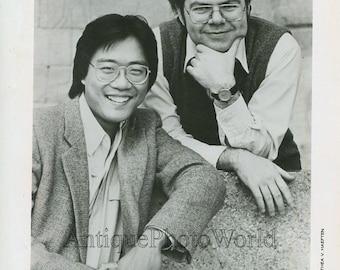 Yo-Yo Ma and Emanuel Ax vintage music photo