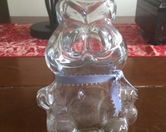Garfield glass coin bank