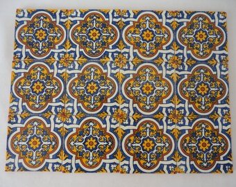 Talavera Ceramic Tiles #2 - Set of 24