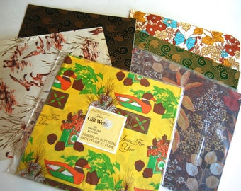 Vintage Collection of Wrapping Paper
