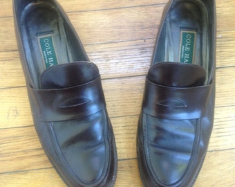 Vintage Cole Haan Penny Loafers, 8AA