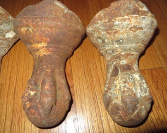 Set Of Four Iron Claw FeetCast Iron 20% Of Moving Sale Code COLORADO