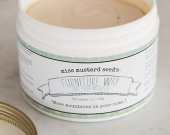 Miss Mustard Seed Furniture Wax