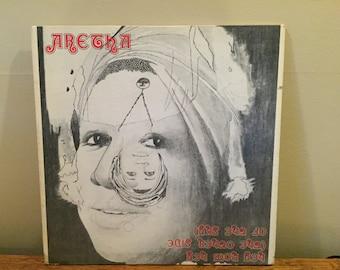 "Aretha Franklin ""Hey Now Hey"" vinyl record"