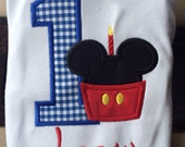Mickey Birthday Shirt/ Bodysuit