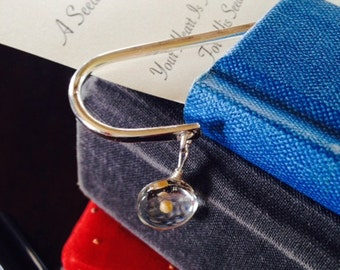 Bookmark with Mustard Seed Charm