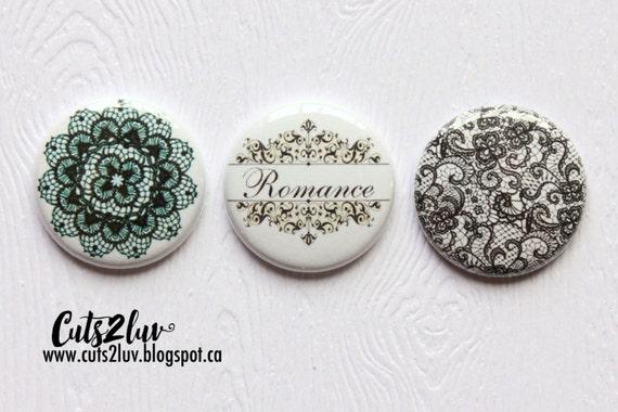 "3 Badges 1"" Romance"