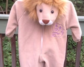 Infants Lion Costume Size 18-24 Months ~ Halloween Costume, Lion King, Cowardly Lion, Plush Costume