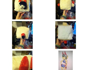 Cubie plush (custom)
