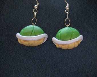 Koopa Shell Earrings