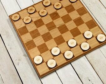Chess & Checker Pieces