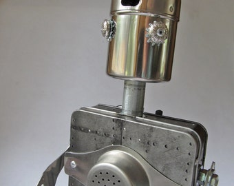 Tin Man – Found Object Robot