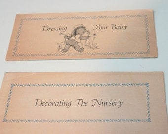 Dressing your Baby/Decorating the Nursery Vintage Ads