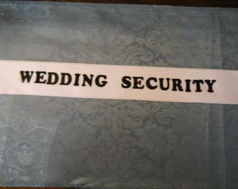 Customized Personalized Special Occasion Party Sash Wedding/Showers Anything