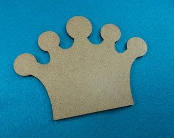 2 crowns, MDF, 12x9 cm (MDF19-0002B)