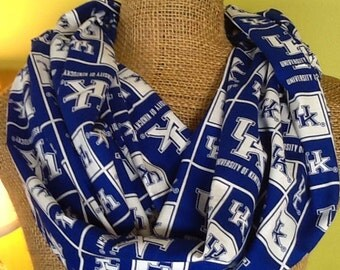University of Kentucky Wildcats Cotton Infinity Scarf