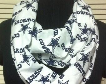 NFL Dallas Cowboys Football Cotton Infinity Scarf