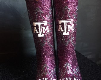 Aggie western boots