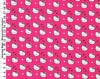 Hello Kitty ~Custom Made~ Fitted Crib/Toddler Sheet
