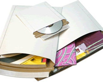 50 - 12.75x15 Rigid Photo Mailers Stay Flats