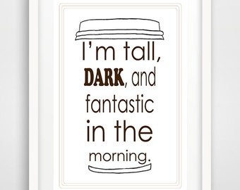 tall, dark, and handsome