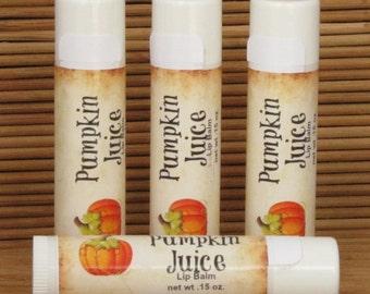 Pumpkin Juice Lip Balm