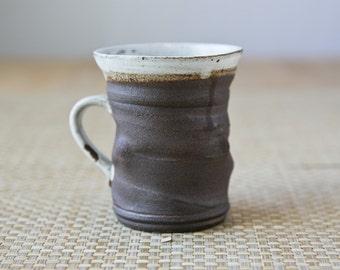 Stoneware Mug, Handmade Ceramic Mug, Wheel Thrown Coffee Mug